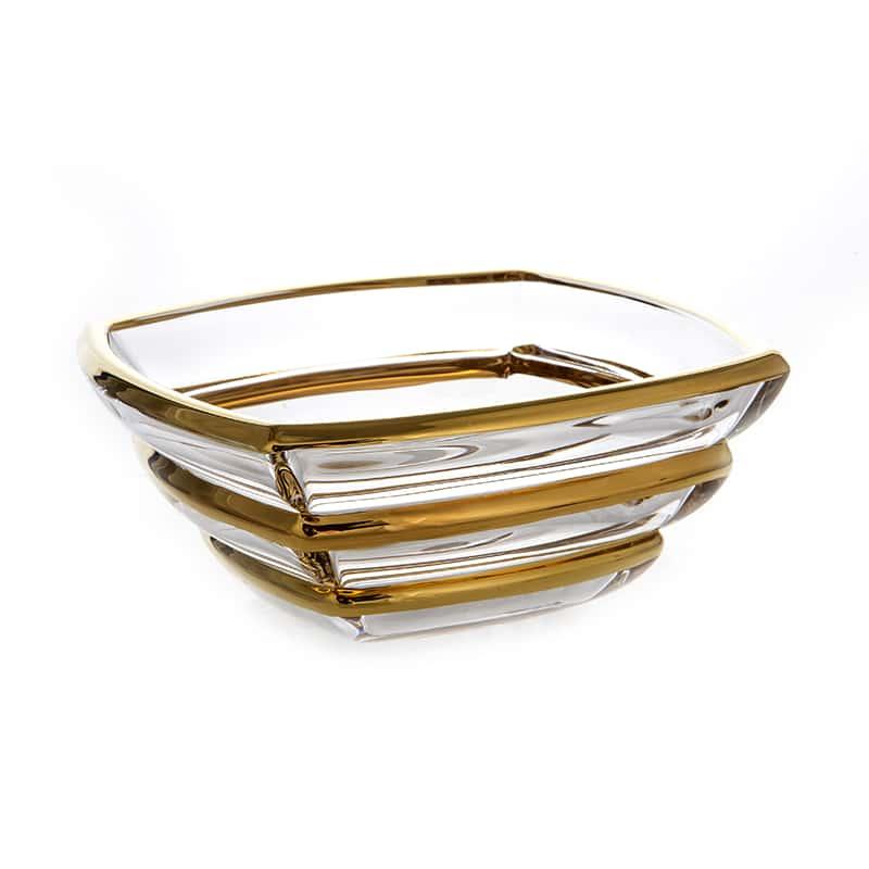 Сегмент Блестящая 2 Ваза для фруктов Union Glass 20,5 см.