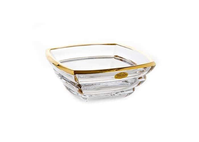 Сегмент Блестящая 1 Ваза для фруктов Union Glass 20,5 см.