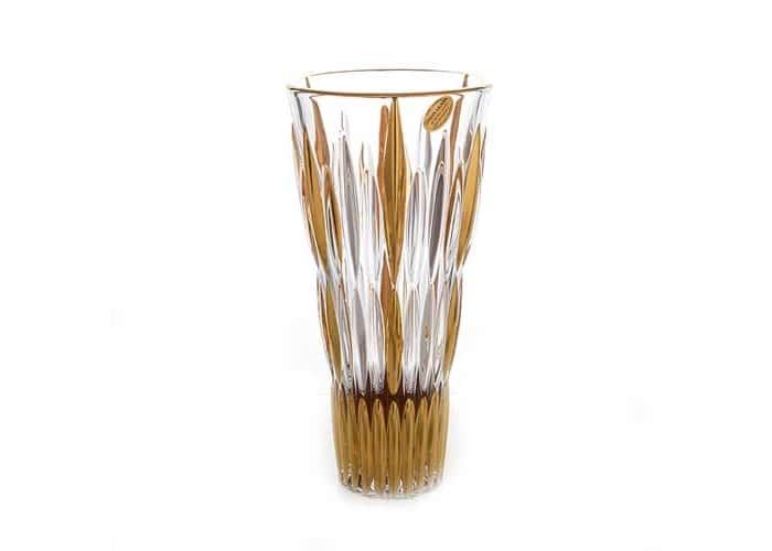 Нова Блестящая 2 Ваза для цветов Union Glass 28 см.