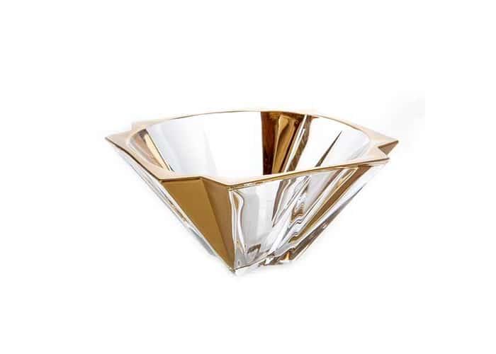 Метрополитан Матовая 2 Ваза для фруктов Union Glass 30,5 см.