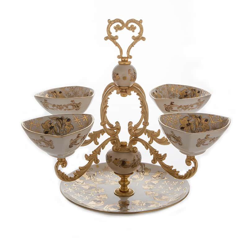 Артиджианато Менажница из керамики 40.х43 cм.
