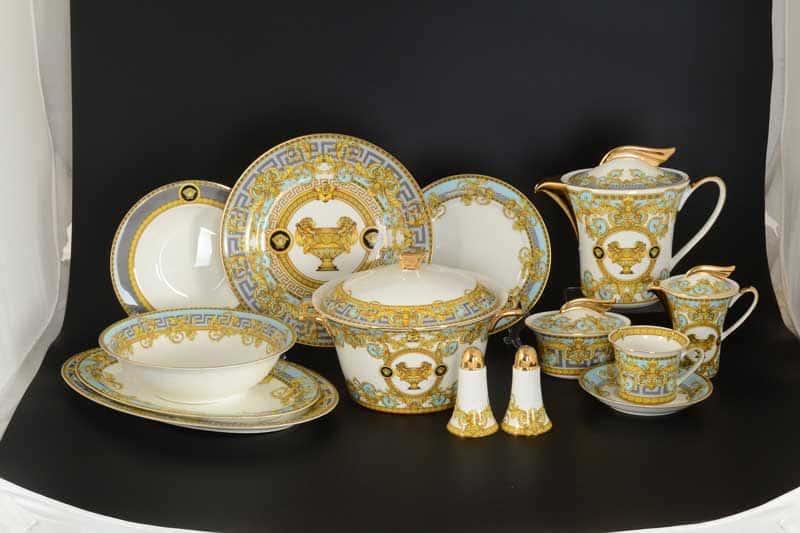 Египетские узоры Столово-чайный сервиз Royal Classics на 6 персон 42 предмета