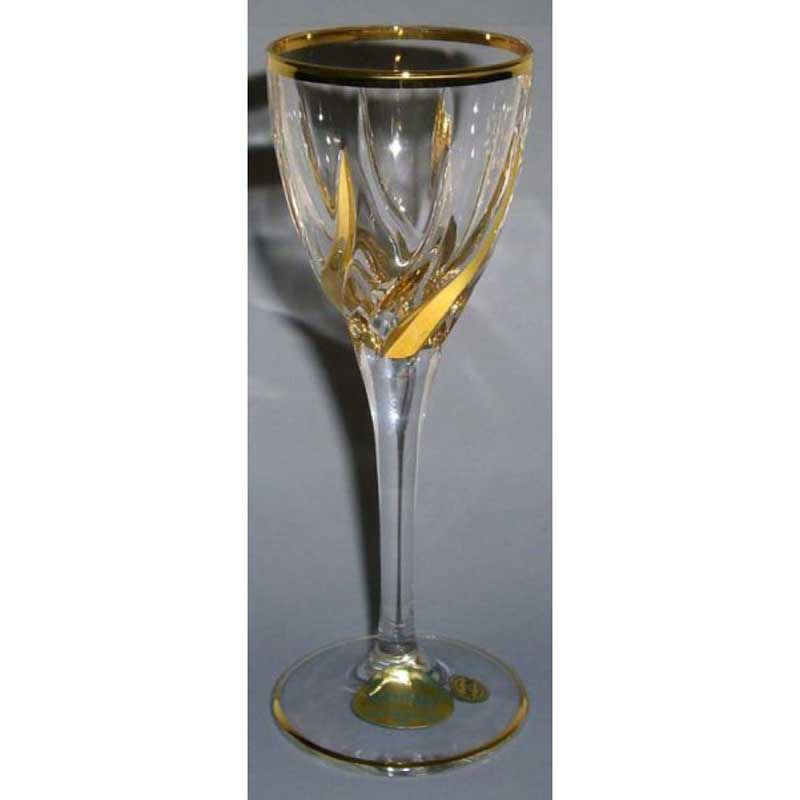Трикс 6 бокалов для ликёра Same Decorazione Италия в подарочной упаковке