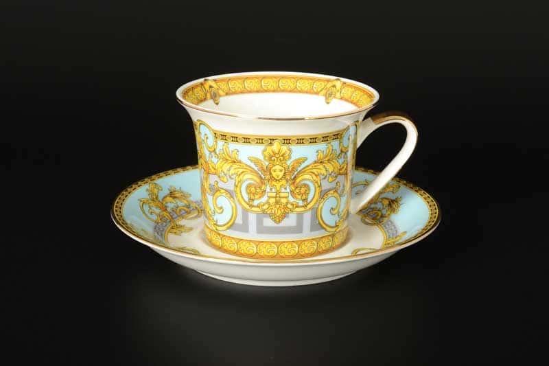 Египетские узоры Набор чайных фарфоровых пар Royal Classics