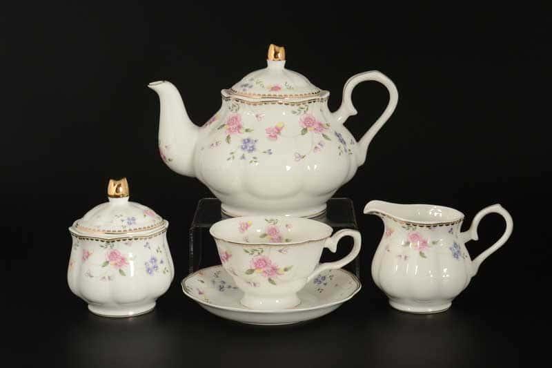 Алиса Розы Чайный сервиз Royal Classics на 6 персон 15 предметов