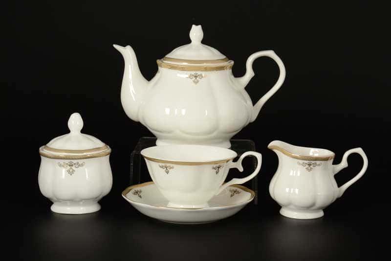 Ампир Чайный сервиз Royal Classics на 6 персон 17 предметов