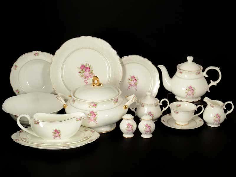 Букет Столово-чайный сервиз Royal Classics на 6 персон 41 предмет