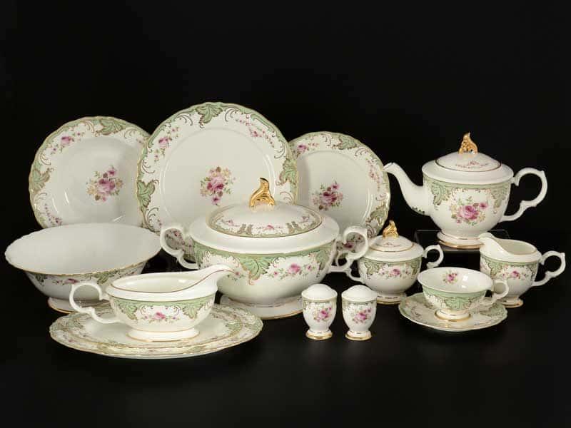Роза Столово-чайный сервиз Royal Classics на 6 персон 41 предмет