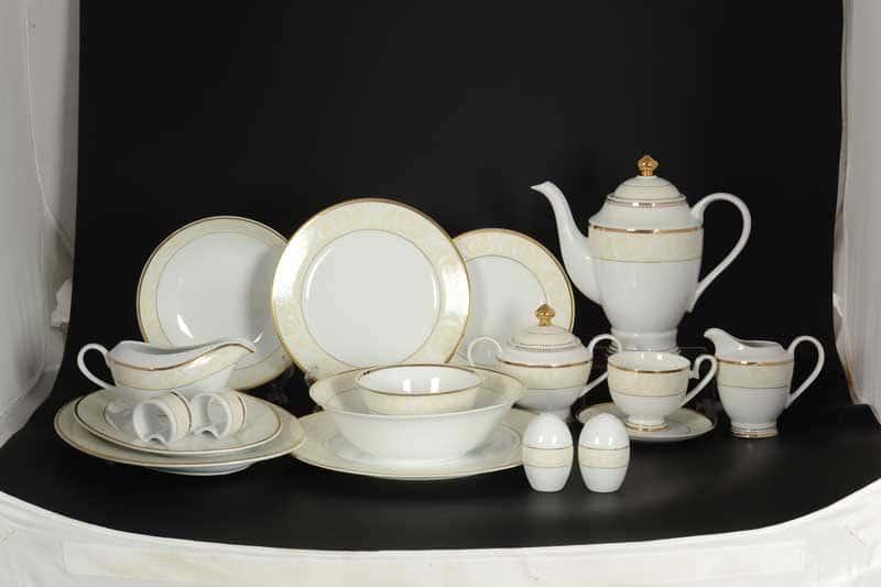 Ноктюрн  Столово-чайный сервиз Royal Classics на 12 персон 79 предмет