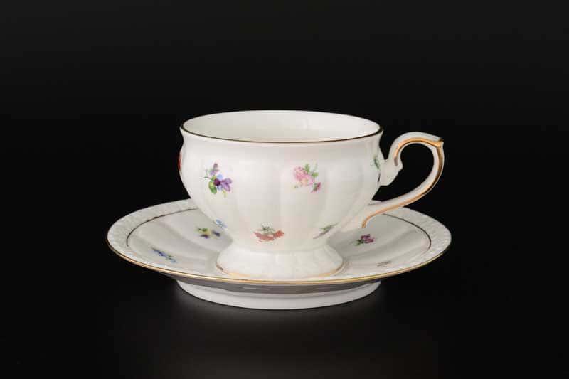 Мария Набор чайных пар Royal Classics (6 шт) 220 мл