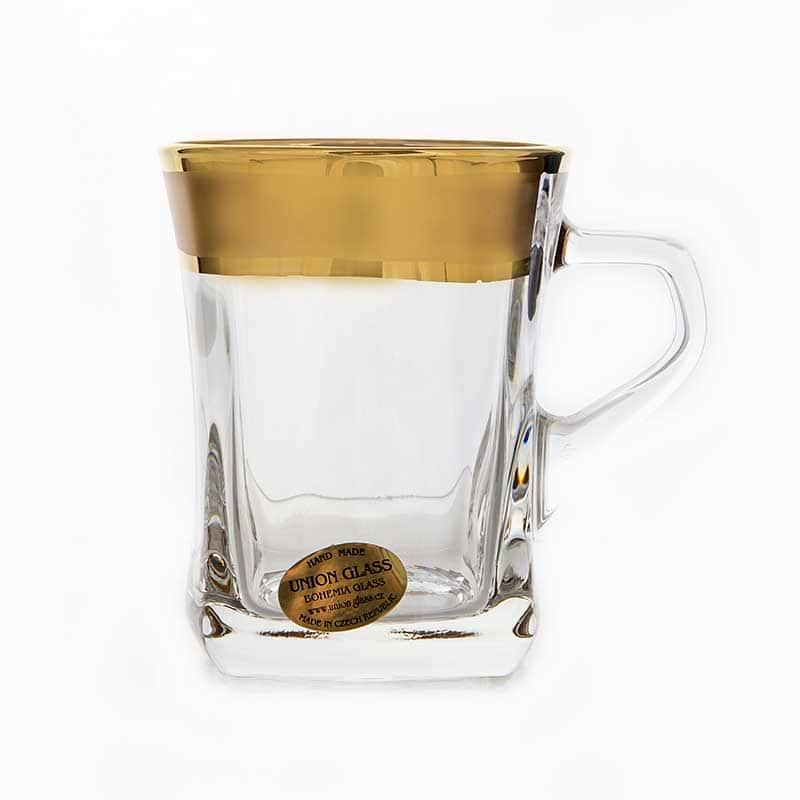Золотая дорожка Набор для чая Union Glass 280 мл. 6 шт.