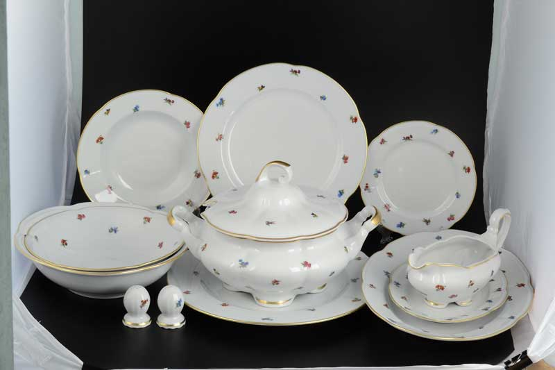 Болеро Мелкие цветы Столовый сервиз Royal Porcelain на 6 персон 28 предметов