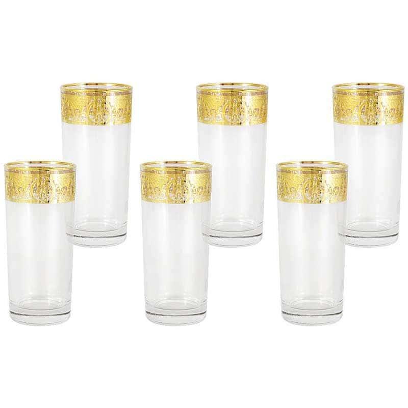 Империя Набор из 6 бокалов для воды Same Decorazione из Италии