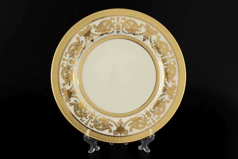 Constanza Cream Imperial Gold Набор тарелок Falken 27 см (6 шт)