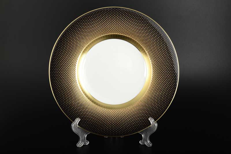 Rio black gold Набор тарелок FalkenPorzellan 22 см (6 шт)