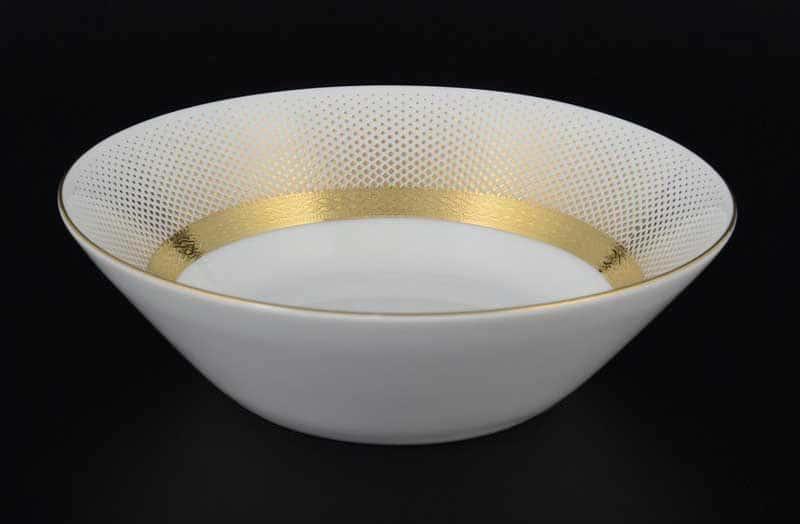 Rio white gold Набор салатников FalkenPorzellan 19 см (6 шт)