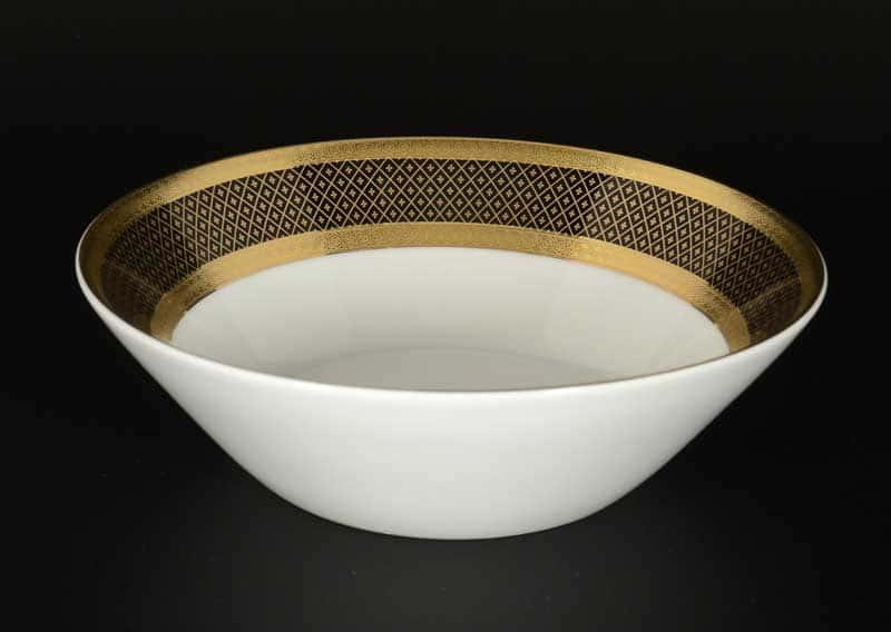 Belvedere Combi BLACK Gold Набор салатников Falken 18 см