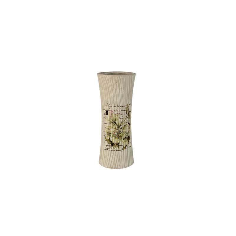 Лилии Ваза для цветов (прямая) малая Sunrise Ceramics из Китая 25 см.