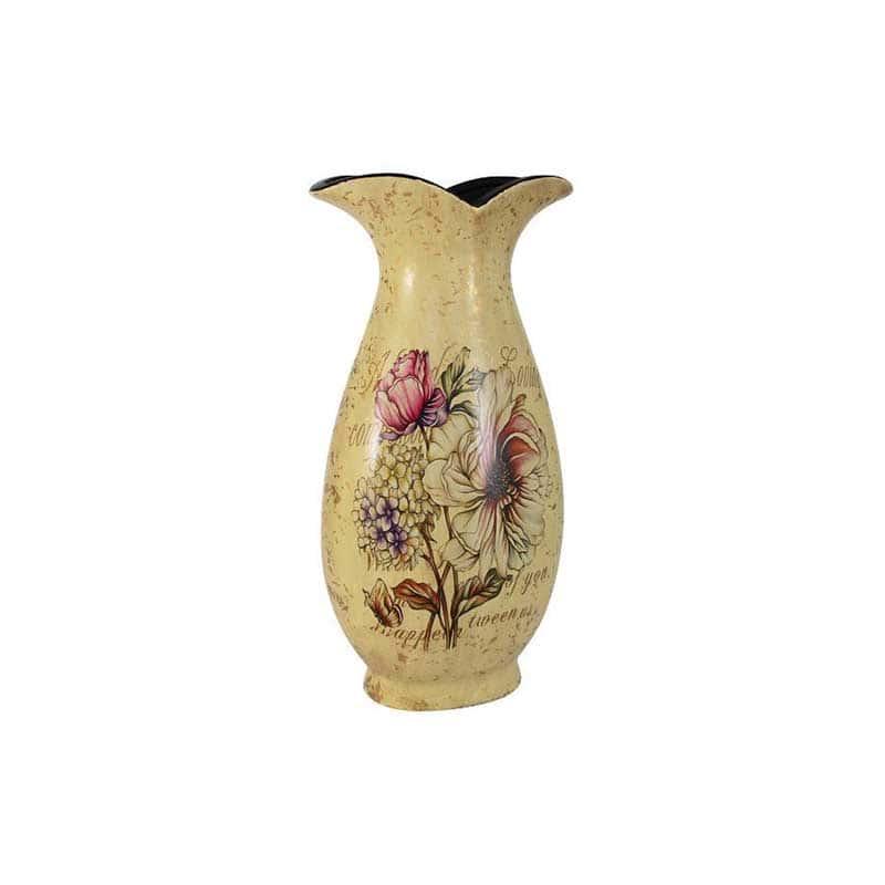 Пионы Ваза для цветов (классика) большая Sunrise Ceramics Китай 41 см.
