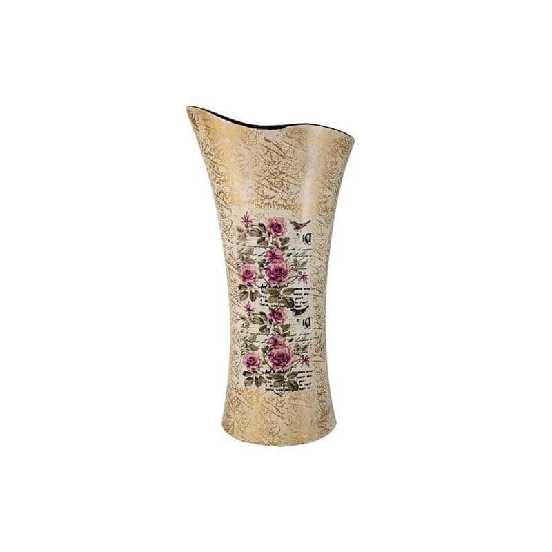Розы Ваза для цветов (волна) большая Sunrise Ceramics из Китая 41 см.