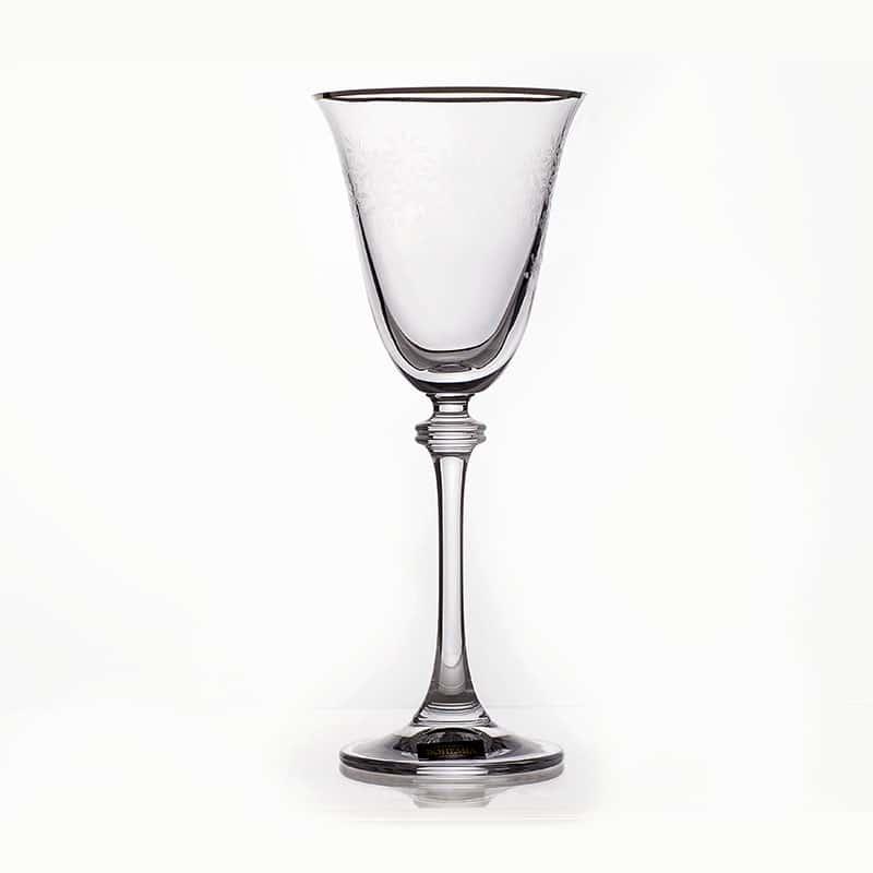 Александра Платина 432227 Бокал для вина Crystalite 350 мл. 1 шт.