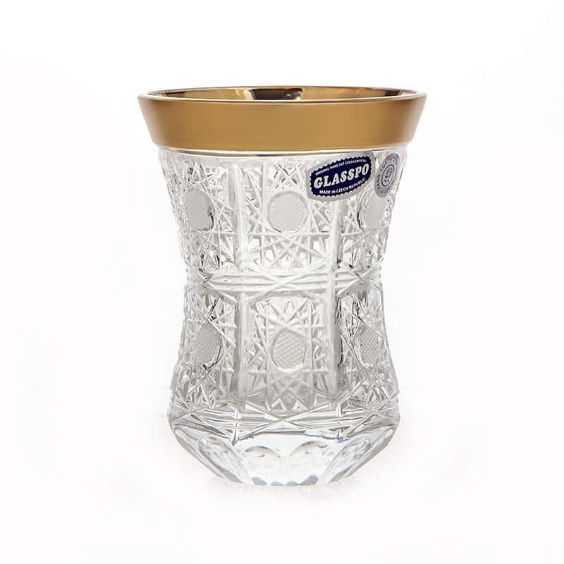 Армуда Cнежинка ХЗ Набор стаканов для чая Glasspo 170 мл. 6 шт.