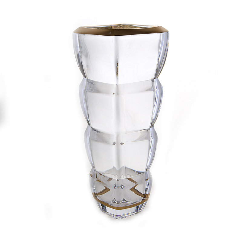 Сегмент Блестящая 1 Ваза для цветов Union Glass 28 см.