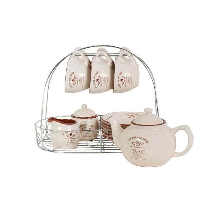 Кухня в стиле Кантри Чайный набор из керамики Terracotta Китай
