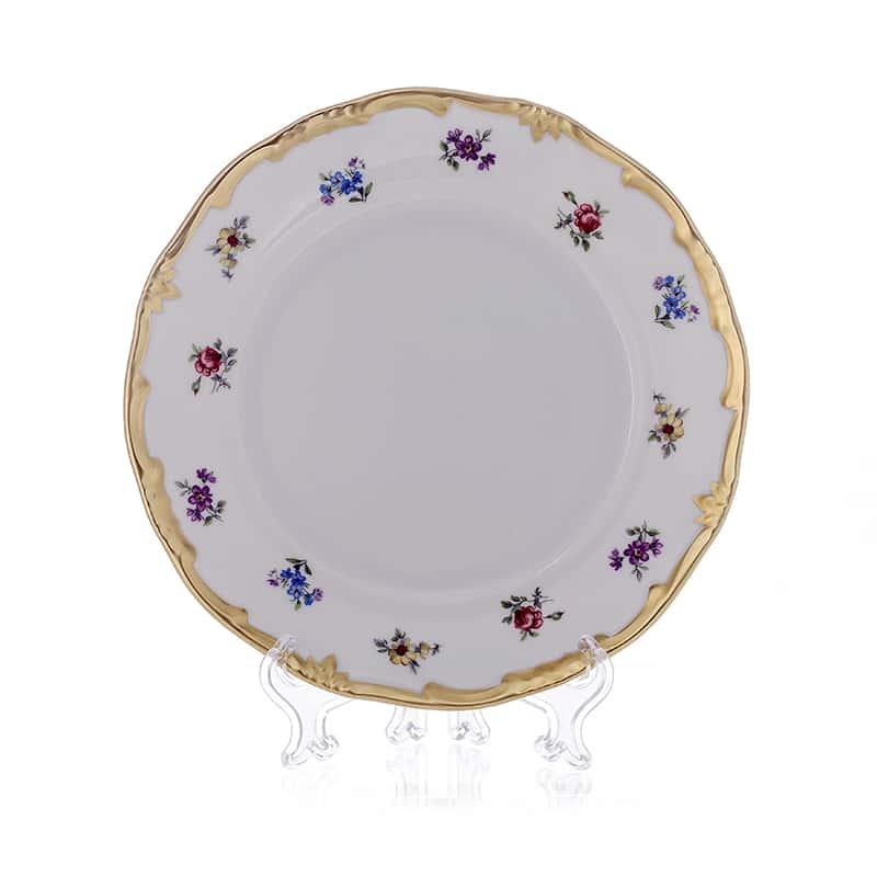 Мейсенский цветок Глубокая тарелка Weimar Porzellan  22 см. 1 шт.