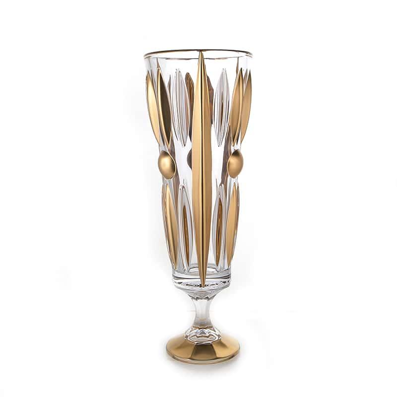 Плуто Матовая 2 Ваза для цветов Union Glass 37 см.