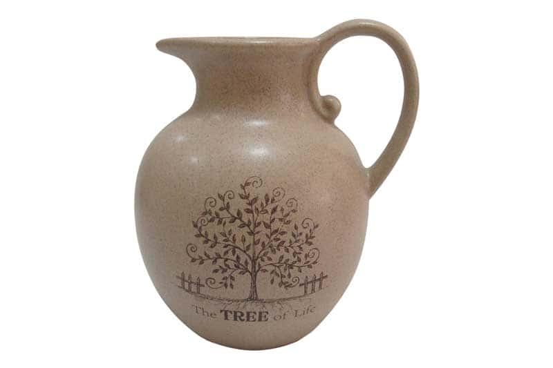 Дерево жизни Кувшин из керамики Terracotta из Китая 1,85 л.