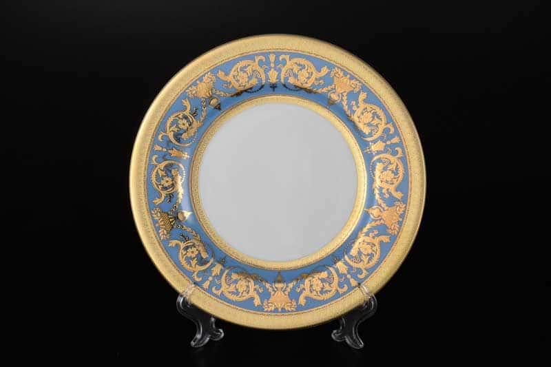C-Imperial Blue Gold Набор тарелок глубоких Falken 23 см (6 шт)