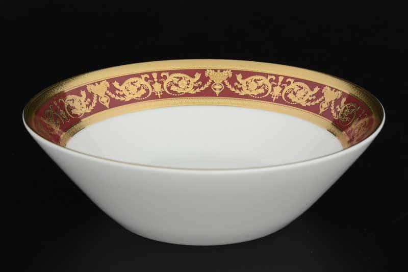 Imperial Bordeaux Gold Набор салатников FalkenPorzellan 19 см (6 шт)