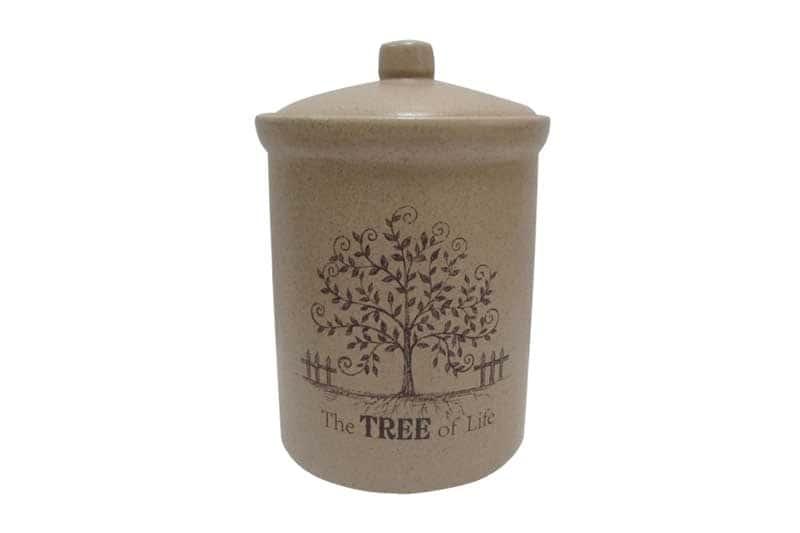 Дерево жизни Банка для сыпучих продуктов большая Terracotta из Китая