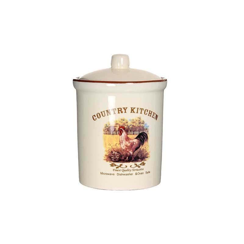 Деревенское утро Средняя банка для сыпучих продуктов Terracotta из Китая