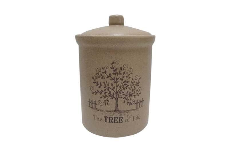 Дерево жизни Банка для сыпучих продуктов средняя Terracotta из Китая