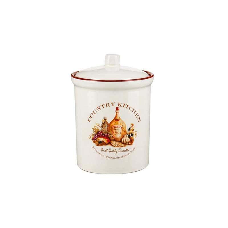 Сардиния Банка для сыпучих продуктов (маленькая) Terracotta из Китая 14 см