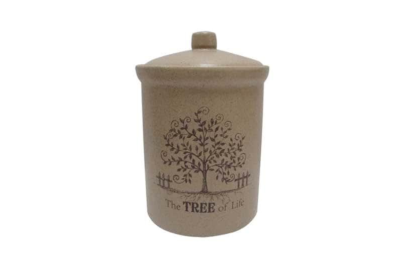 Дерево жизни Банка для сыпучих продуктов маленькая Terracotta из Китая