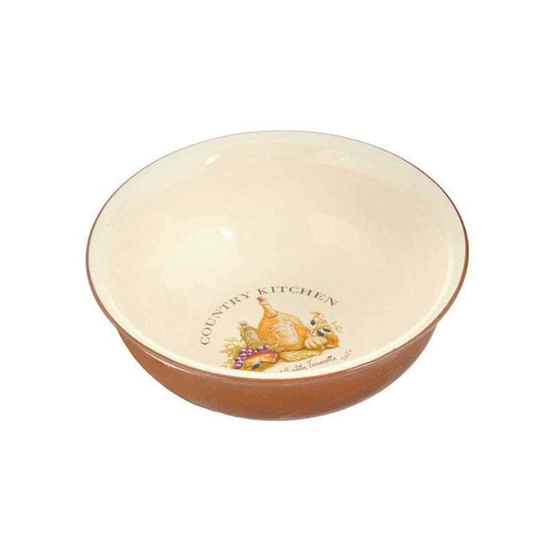 Сардиния Салатник Terracotta из Китая в подарочной упаковке 22 см