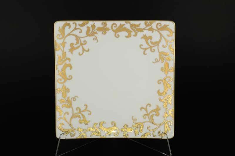 Tosca Blueshade Gold Набор квадратных тарелок Falken 20 см
