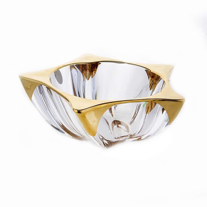 Еко Блестящая 2 Ваза для фруктов Union Glass 21 см.