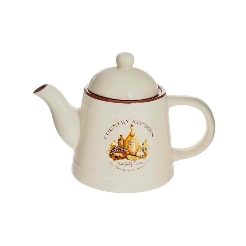 Сардиния Чайник заварочный керамический Terracotta из Китая 1,1 л.