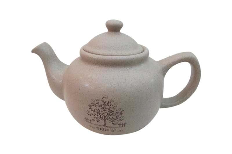 Дерево жизни Чайник заварочный керамический Terracotta из Китая 1,0 л.