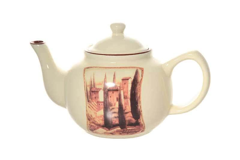 Итальянская деревня Заварочный чайник Terracotta из Китая в подарочной упаковке