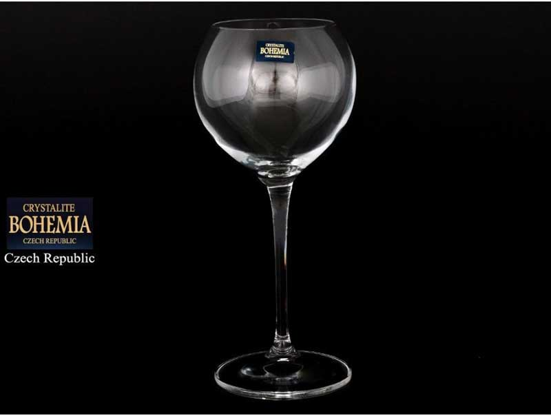 CECILIA Набор бокалов для вина (6 шт) 340 мл Crystalite Bohemia