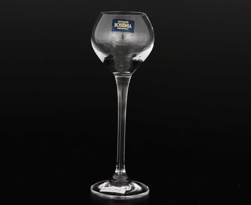 CECILIA Набор рюмок для водки Crystalite Bohemia 80 мл (6 шт)