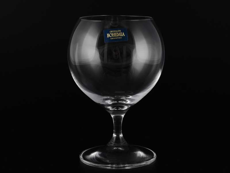 CECILIA Набор бокалов для бренди Crystalite Bohemia 350 мл (6 шт)