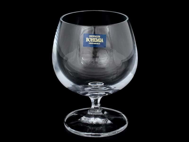 LAURA Набор бокалов для бренди 250 мл Crystalite Bohemia (6 шт)