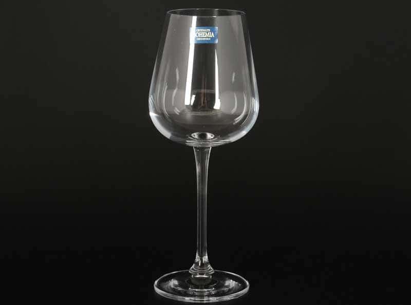 AMUNDSEN Набор бокалов для вина Crystalite Bohemia 330 мл (6 шт)