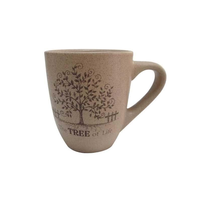 Дерево жизни Кружка из керамики Terracotta из Китая 0,3 л.